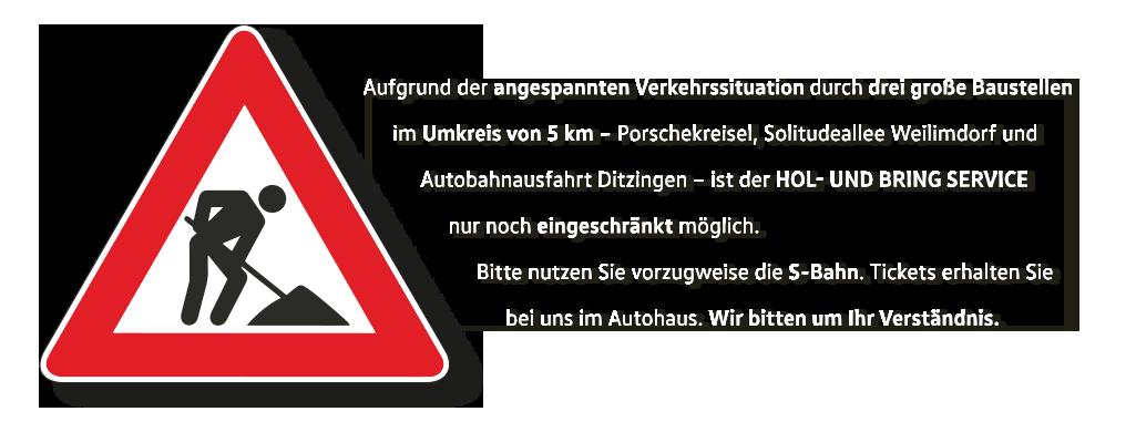 Baustelle Korntal - Autohaus HOLZER