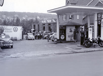 Autohaus Holzer, Stuttgart-Korntal, 1950