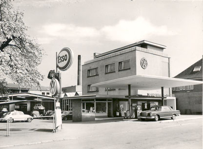 Autohaus Holzer, Stuttgart-Korntal, 1953