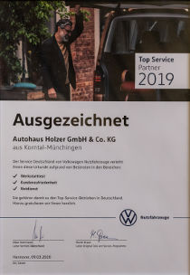 Autohaus Holzer Stuttgart: VW TOP 100