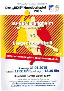 Das Rixe Handballspiel - unterstützt vom Autohaus Holzer