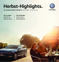 Autohaus Holzer - Stuttgart - VW - Angebote Herbst 2018