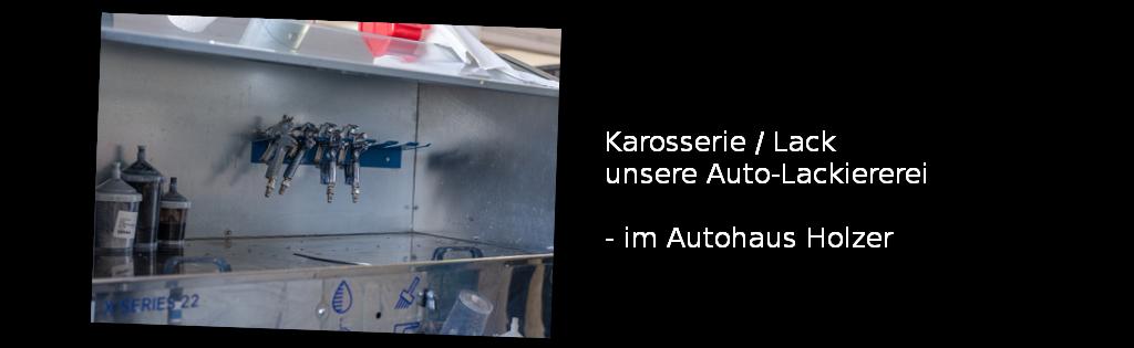Autolackiererei im Autohaus Holzer, Stuttgart-Korntal