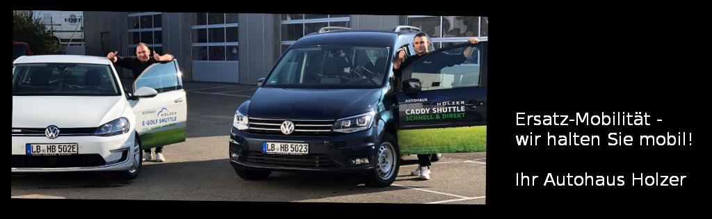 Ersatzwagen, Hol-und-Bring-Service, ...: Autohaus Holzer, Stuttgart-Korntal