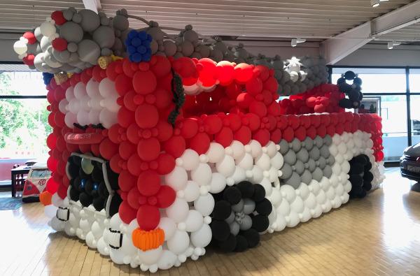 200 Jahre Korntal - Feuerwehr im Autohaus Holzer