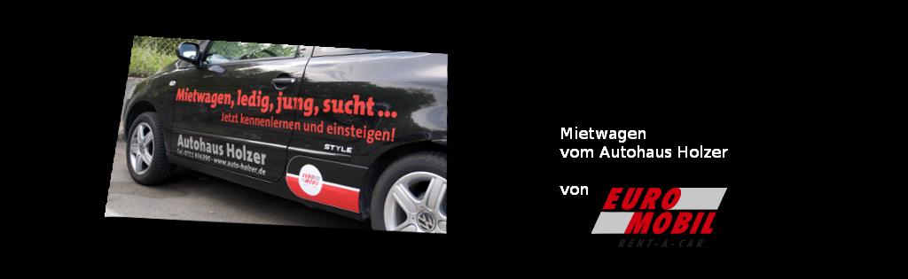Mietwagen - im Autohaus Holzer, Stuttgart-Korntalt
