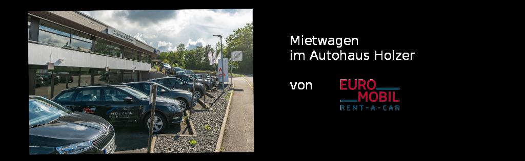 Mietwagen - im Autohaus Holzer, Stuttgart-Korntal