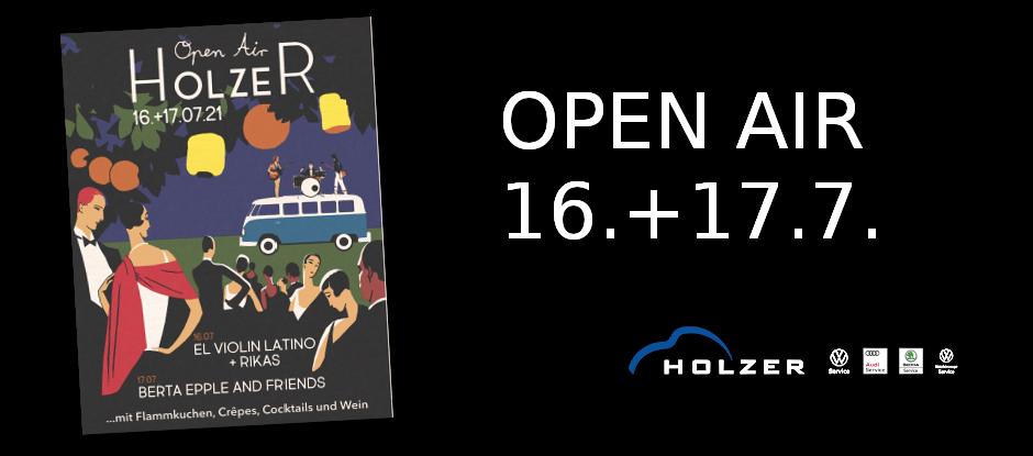 OpenAir Juli 2021 Autohaus Holzer Stuttgart-Korntal