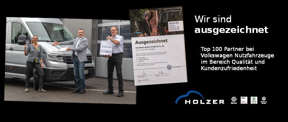 VW-Autohaus Holzer - Top 100