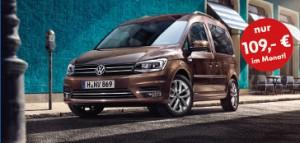 Volkswagen VW Caddy - Aktion Angebot Autohaus Holzer Korntal, 2016