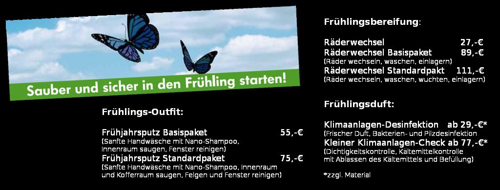 Frühling: Angebote im Autohaus Holzer, Korntal Stuttgart