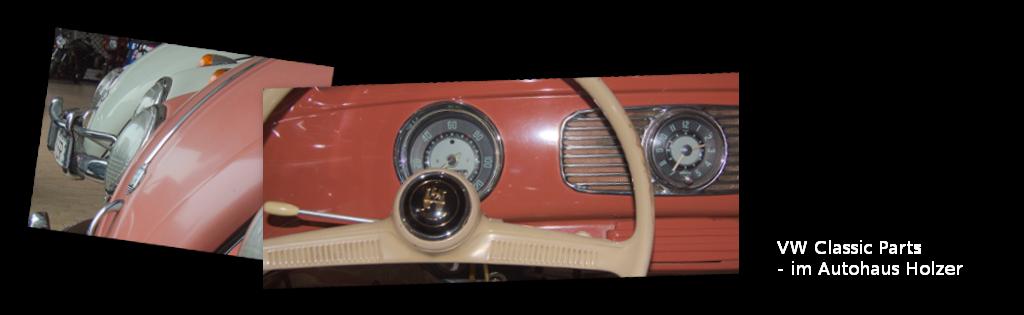 VW Classic Parts - für Oldtimer - im Autohaus Holzer, Stuttgart-Korntal